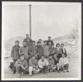 1958年,云南昆明安宁温泉留念老照片
