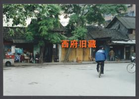 2000年前后,成都磨坊街老照片,成都街道建筑老照片