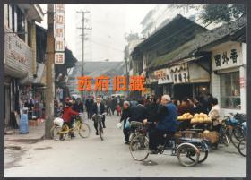 2000年前后,成都半边桥街老照片,成都老街道民居建筑老照片