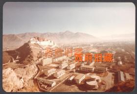 八十年代初,朝气蓬勃的西藏拉萨城,西藏布达拉宫老照片