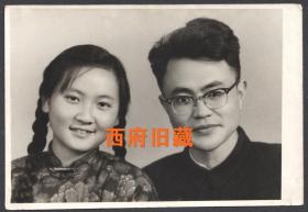 五十年代,成都结婚合影老照片