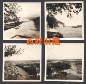五十年代,少见的成都都江堰全景老照片4张