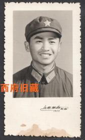 1975年,北京翠微照相馆,军人老照片