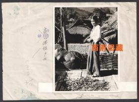 云南省德宏傣族景颇族自治州瑞丽市勐卯镇,勐卯傣族少女老照片