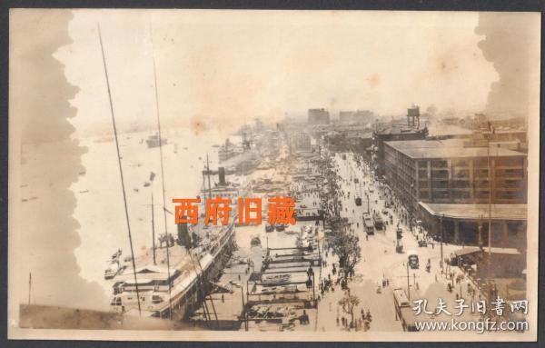 民国老照片,上海外滩老照片