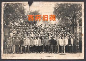 1975年,共青团,重庆钢铁公司子弟学校团总支活动合影老照片