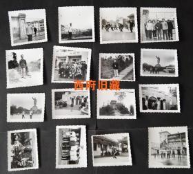 七八十年代,雅安市体育运动委员会相关太极拳雅安烈士陵园、名胜古迹等老照片16张