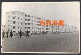 五六十年代,上海街道建筑老照片,上海张庙老照片