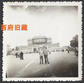 六十年代,成都人民广场(天府广场)留念老照片