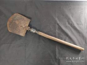 《军铲》战时期老物件 革命烈士战场遗物 红色收藏49