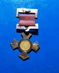 张学良赠 东北军十字奖章
