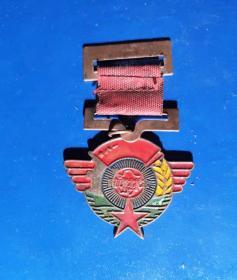 解放东北纪念章