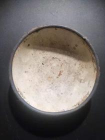 二战遗留日本铁碗 古玩古董红色博物馆真品收藏