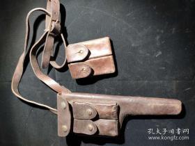《驳壳枪枪套》抗战收藏 红色博物馆收藏06