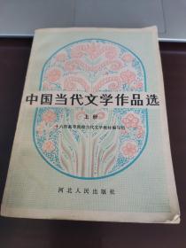 中国当代文学作品选 上册 000