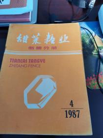 甜菜糖业1987.4