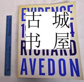 收藏版《大师理查德·埃夫登作品》大量黑白插图,1995年出版