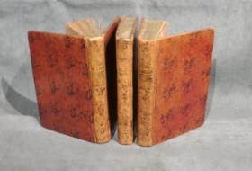 稀缺本,瑞士数学家和物理学家欧拉著《德国的公主信件,有关物理和数学各学科对哲学问题》19折叠铜版画, 1778年出版