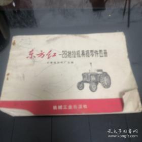《东方红拖拉机-28拖拉机易损零件图册》(修订本)16开