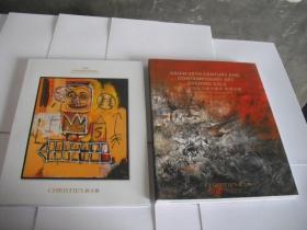 CHRISTIE`S 佳士得 亚洲二十世纪及当代艺术晚间拍卖 2018 融艺(2册合售)