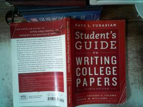 Student's Guide to Writing College Papers:Fourth Edition