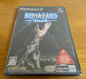 全新 未拆封 PS2 生化危机 网络版 逃出生天 2 爆发2 日版