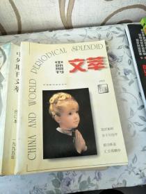 中外期刊文萃1995年合订本含 创刊号