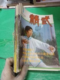 精武 1988年 第1-5期 共五册