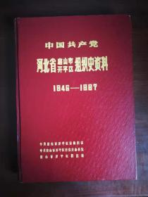 中国共产党河北省唐山市开平区组织史资料(1946---1987)