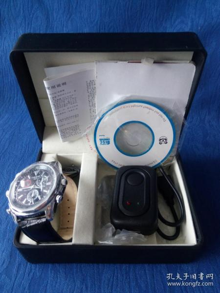 高清摄像手表充电型原包装没有使用