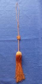 晚清民国纯手工编织中国结盘肠款剑穗高档艺术品流苏做工精美怀旧老物件饰品