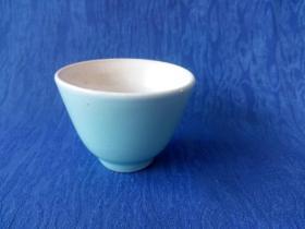 民国景德镇窑豆青釉茶道茶碗中古奢侈品家庭茶楼会所陈列展示 釉水漂亮光润如玉