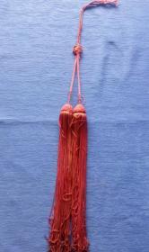 晚清民国纯手工编织中国结盘肠款剑穗高档艺术品流苏做工精美怀旧老物件