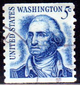 邮票,老邮票,美国国父华盛顿总统邮票,美国邮票1966年开国伟人华盛顿总统雕版1全信销 !正品保真,非常稀有难得,意义深远,可谓古邮票收藏的珍品,孤品,神品