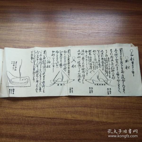 日本花道   日本插花艺术书籍  《生花五个条 》   大正12年(1923年)   尺寸:45厘米*16厘米