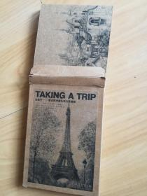 【明信片】去旅行~著名欧洲建筑黑白素描画