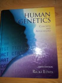 Human Genetics: Concepts and Applications 6e (人类遗传学:概念和应用 )