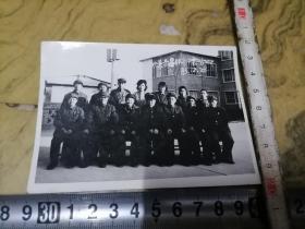 欢送离退休老干部合影1983.12..28