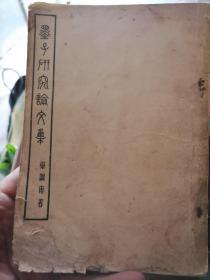 墨子研究论文集