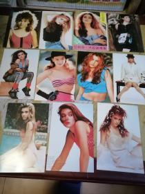少女明星艾莉莎米拉诺专集明信片十张