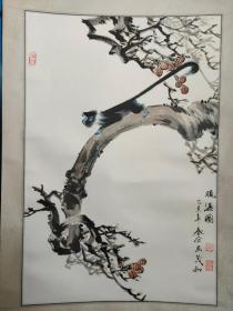 闫茂如、国画