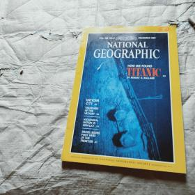 NATIONAL GEOGRAPHIC DECEMBER 1985