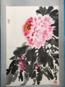 张德育国画,天津美术家协会副主席,天津画院一级画师,国务院特殊津贴享受者。