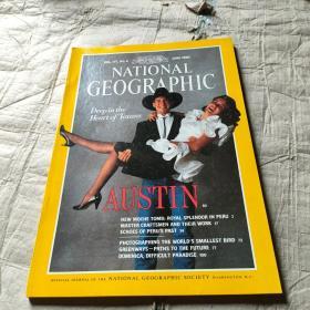 NATIONAL GEOGRAPHIC JUNE 1990 美国国家地理杂志 英文原版
