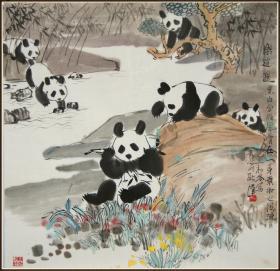 【耿汉】陕西人 甘肃美术家协会副主席 国宝图