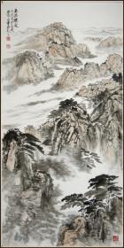 【刘占军】北京市人 国家一级美术师 现为中国美术家协会会员 北京美术家协会会员 中国华侨画院副院长 山水