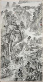 【左文辉】甘肃人 现工作于中国美术家协会工部、中国美术家协会网副主编 山水