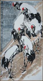 【朱法鹏】国家一级美术师 中国军谊诗书画院副院长 河南美协理事 花卉