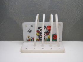 1990年 北京亚运会吉祥物熊猫盼盼图案儿童算数玩具 怀旧老玩具