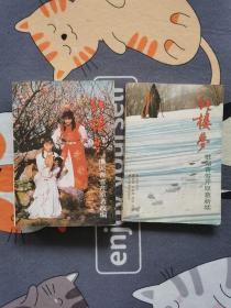 87版 红楼梦电视剧 剧本 全两册 1版1印 1987年 正版